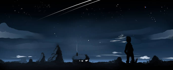 quick night sketch