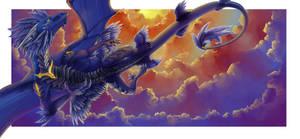 Leundra in the sky