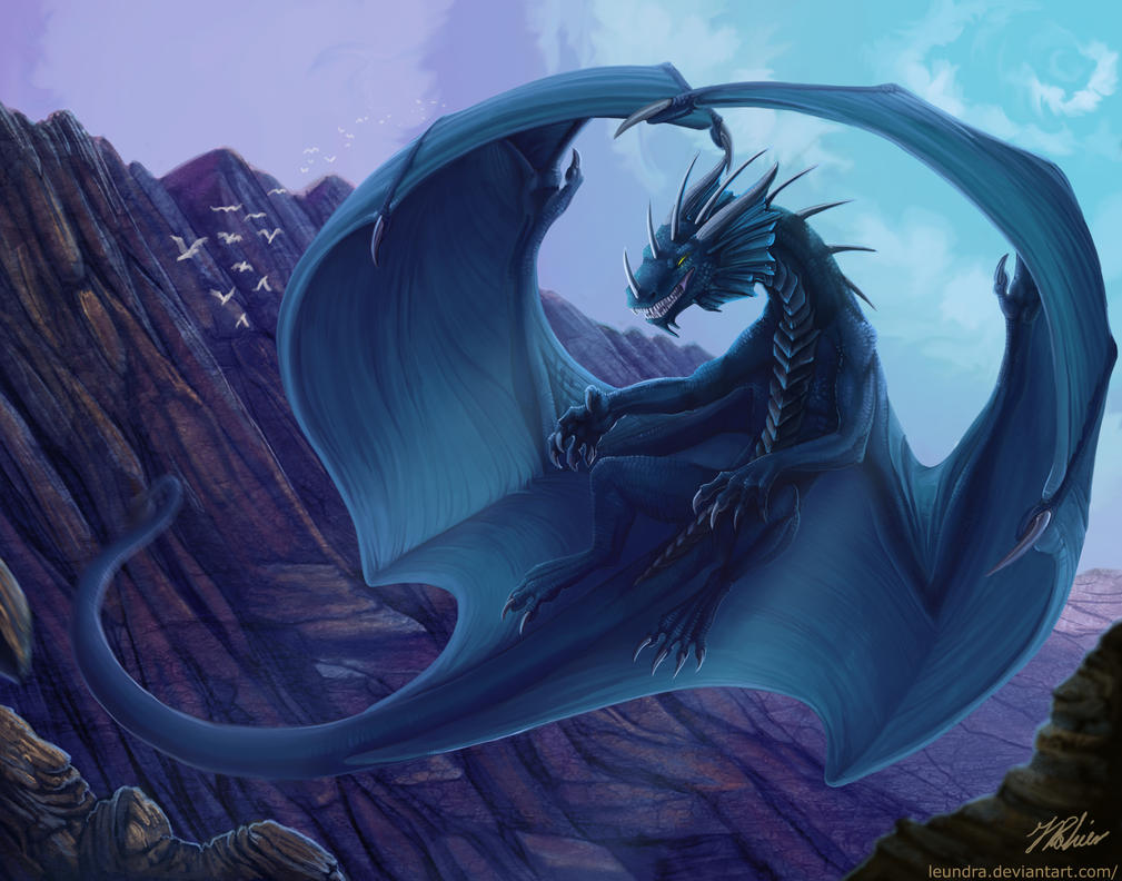 The big blue one by Leundra