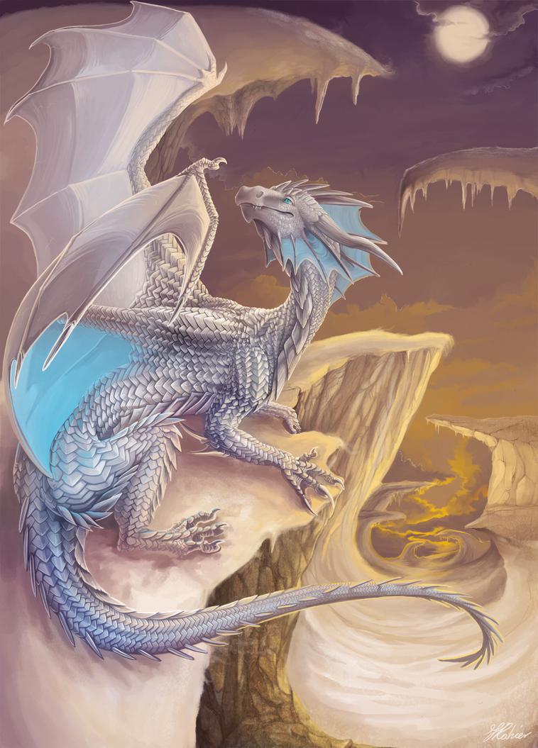 Snowdragon by Leundra