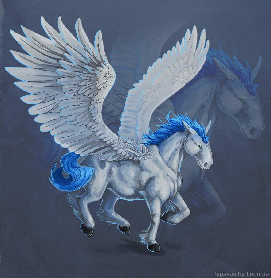 Pegasus by Leundra