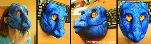 Dragonmask V1 by Leundra