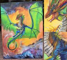 Element dragon by Leundra