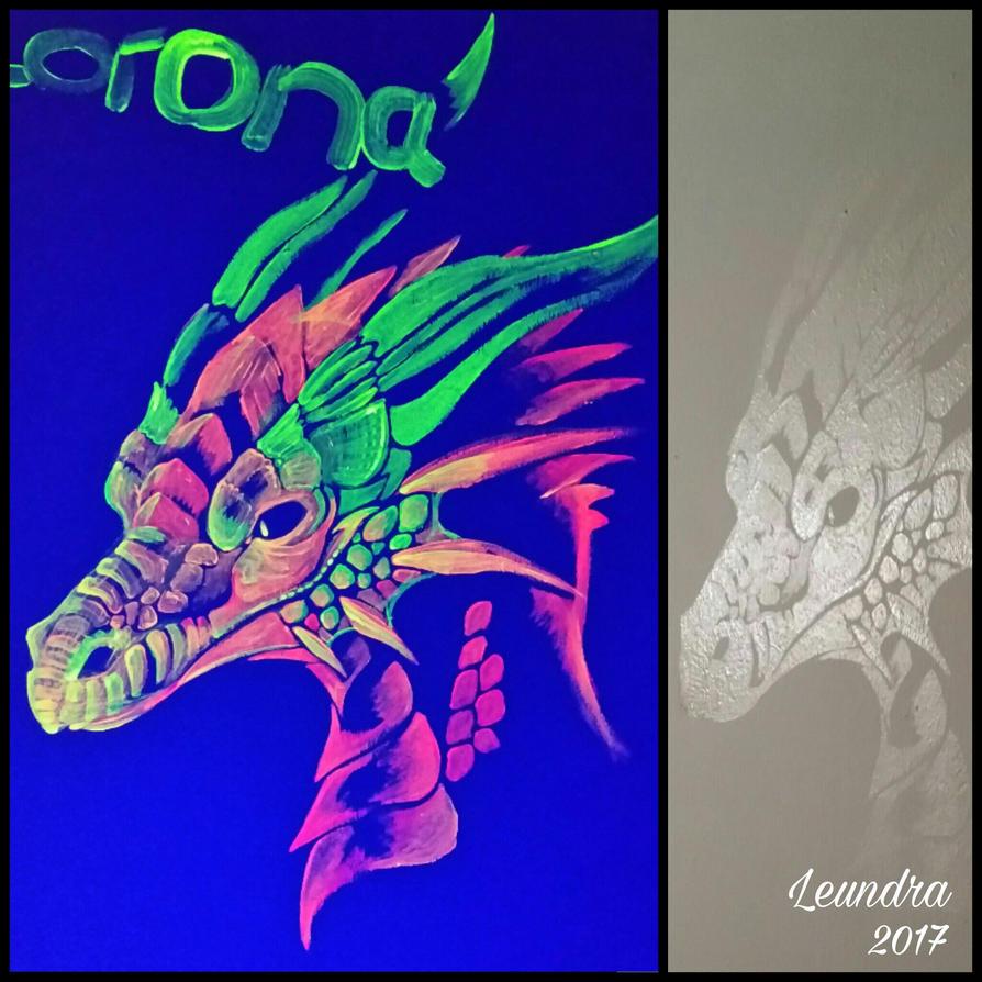 Black light dragon by Leundra