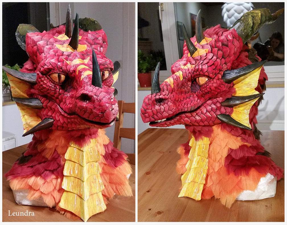 Red dragon by Leundra