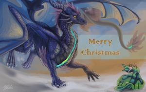 Christmas card 2017 by Leundra