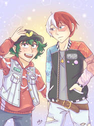 Hip Hop TodoDeku by indidere