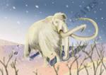 Frosty, the snow-proboscidean by Carlosdino