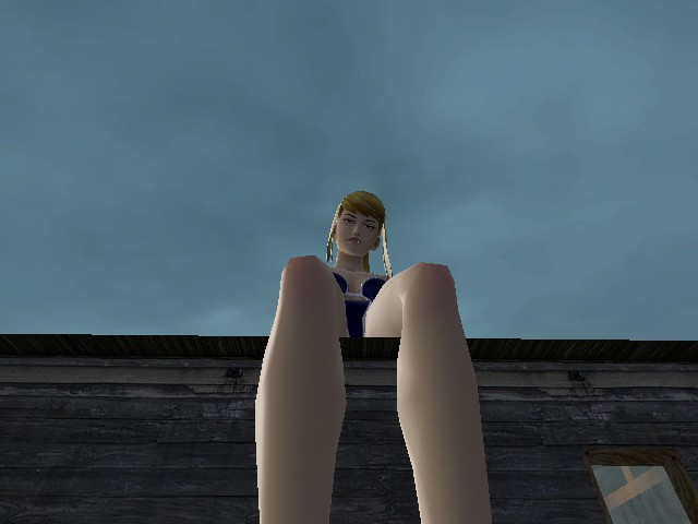 samus on my roof in g-mod by RulerKing809