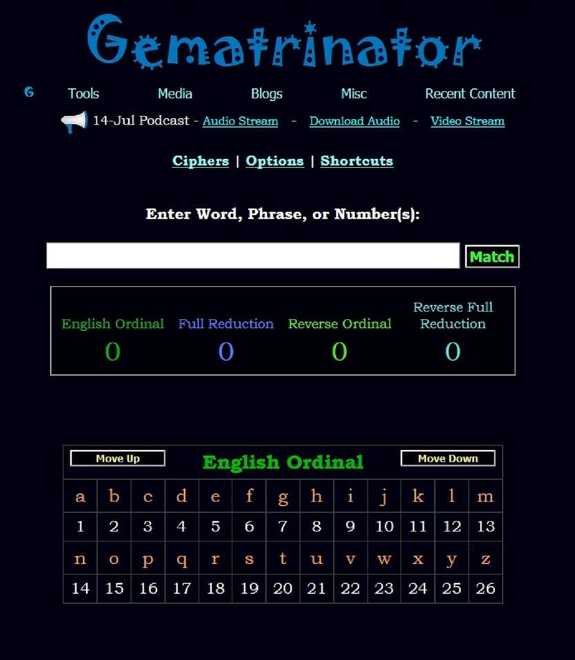 Gematrinator by QuietW8