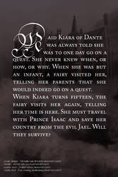The Inkeeper's Daughter   Back Cover