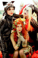Gotham City Sirens by minicooly