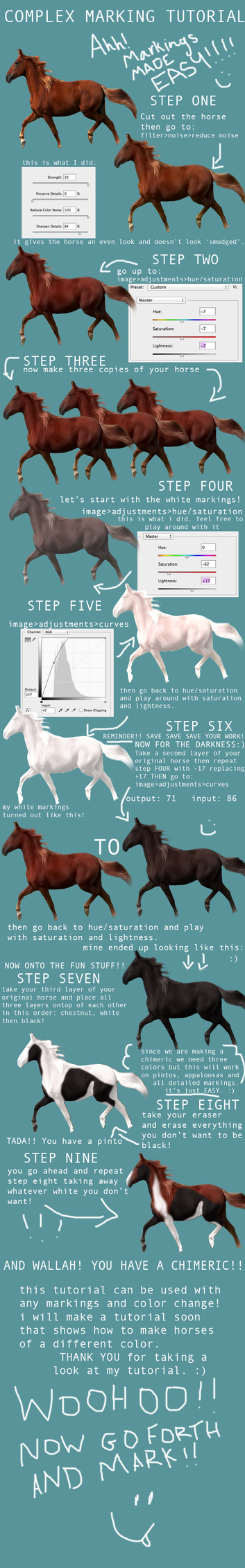 MARKING TUTORIAL:: hard markings made easy! by equirena