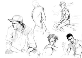 sketches by LiaBatman