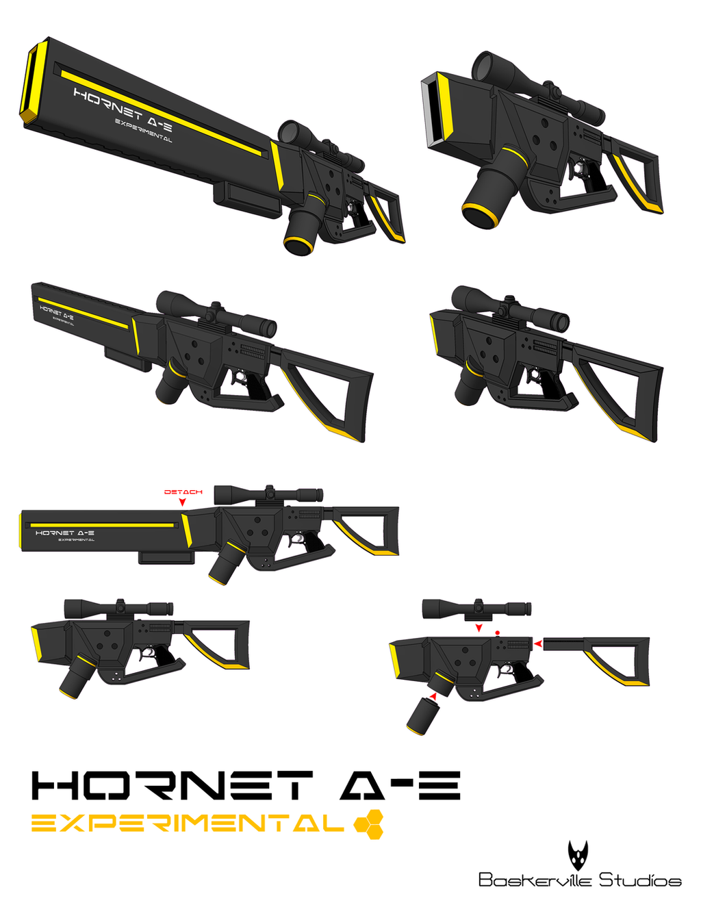 Hornet A-E Experimental Weapon by kid-cody on DeviantArt