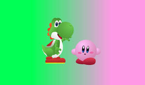 Yoshi and Kirby