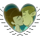 KimxRon heart stamp by DoomScarf