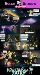 SS HTKF, Battle with Green P.2 by cretaceousisle