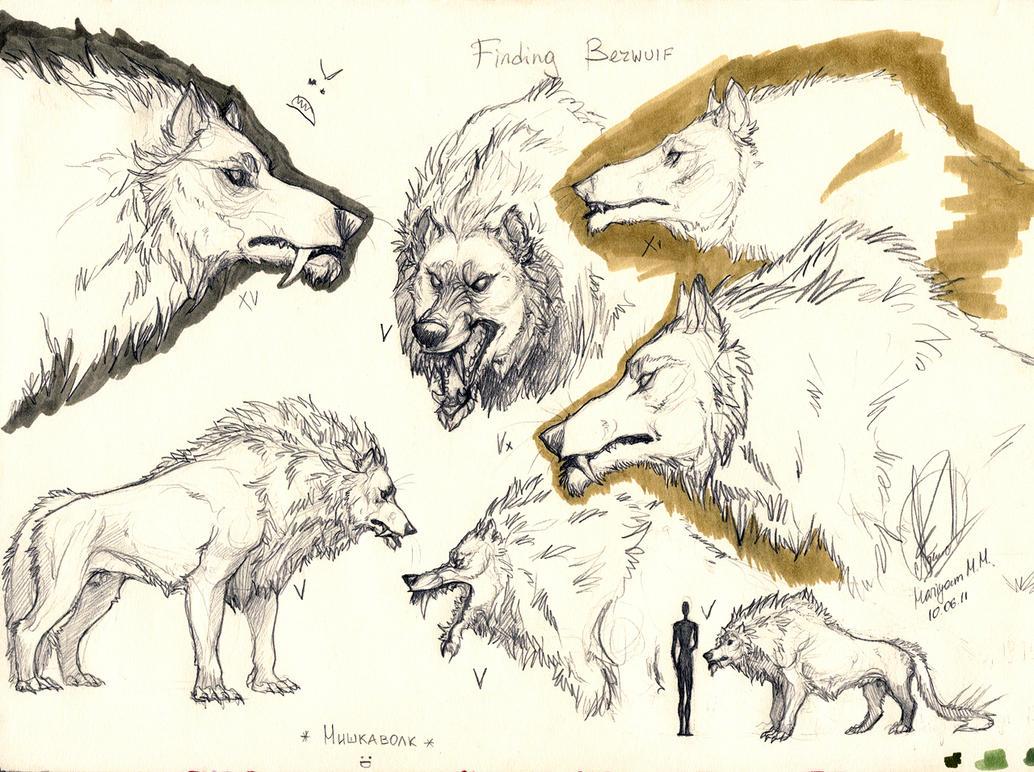 Wolf Bear Hybrid