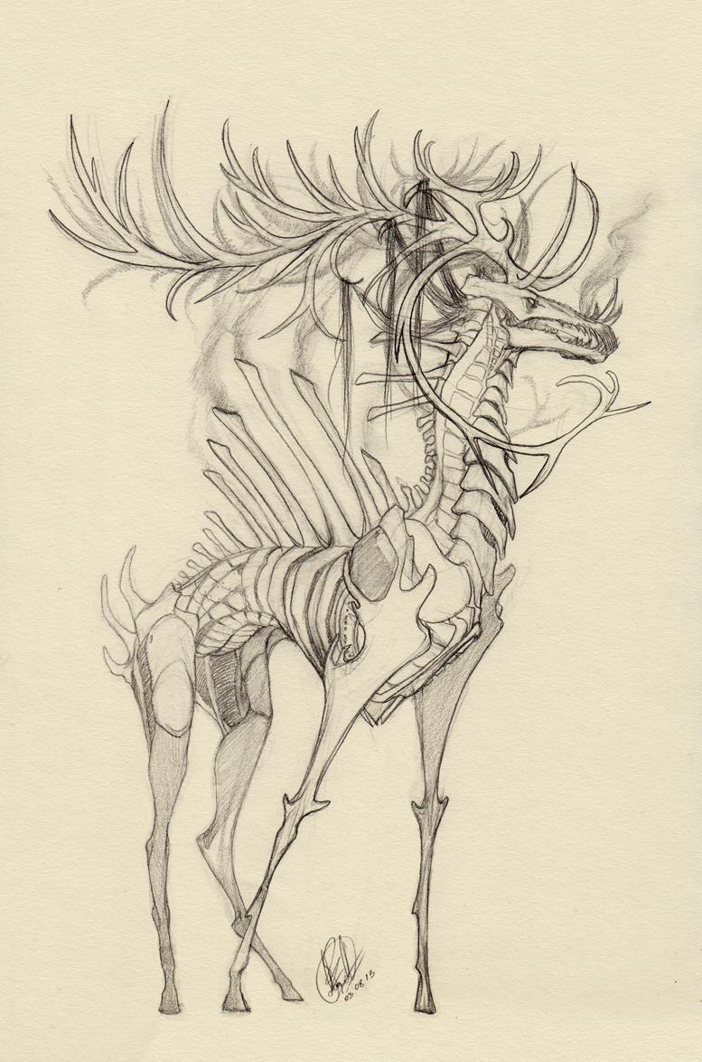 Unknown Deity by RayEtherna