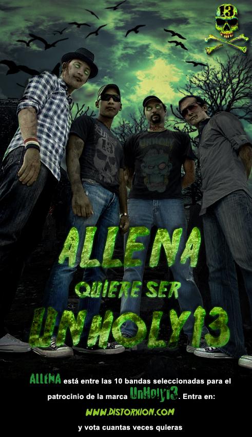 Allena been Zombie by javierchopo