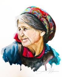 old woman by tomboyinside