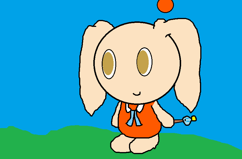 Character Chao designs 2:Cream the rabbit by epicparadot