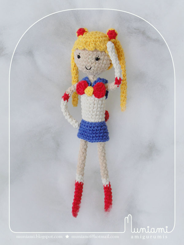 Amigurumi Sailor Moon : Amigurumi Sailor Moon by natalianinomiya on DeviantArt