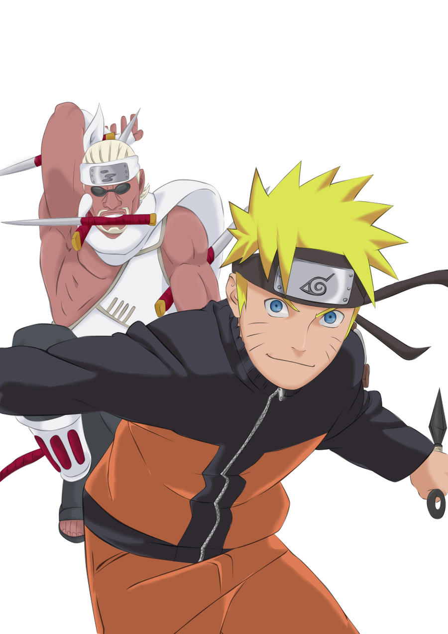 Misiones de Memnoch. Killer_bee_and_naruto_by_colormangajoh-d32n0xr