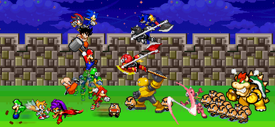 Super X Saga by banjothewutaikuma