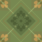Sage Tile by karuka
