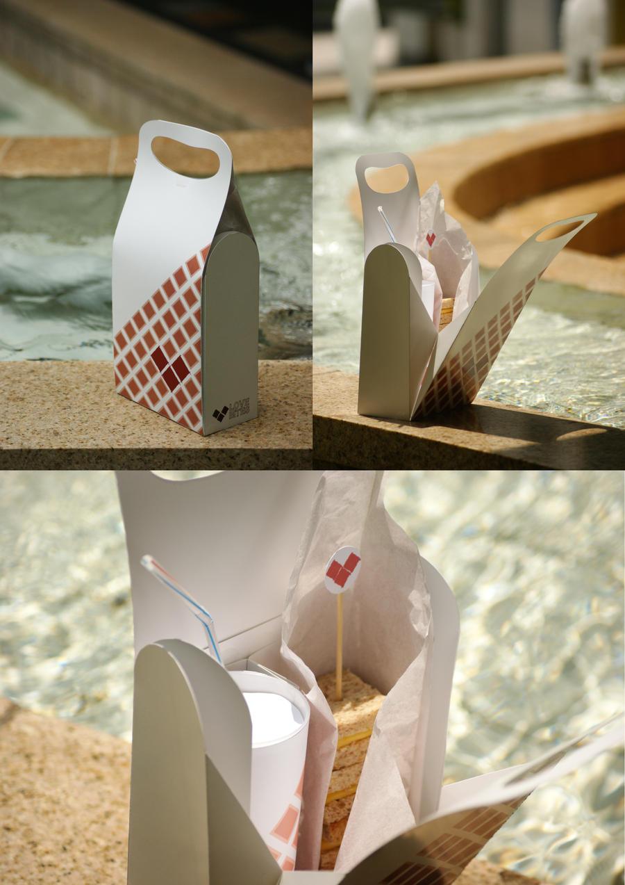 Love Bites Cafe Packaging