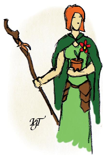 Druid by Tebius