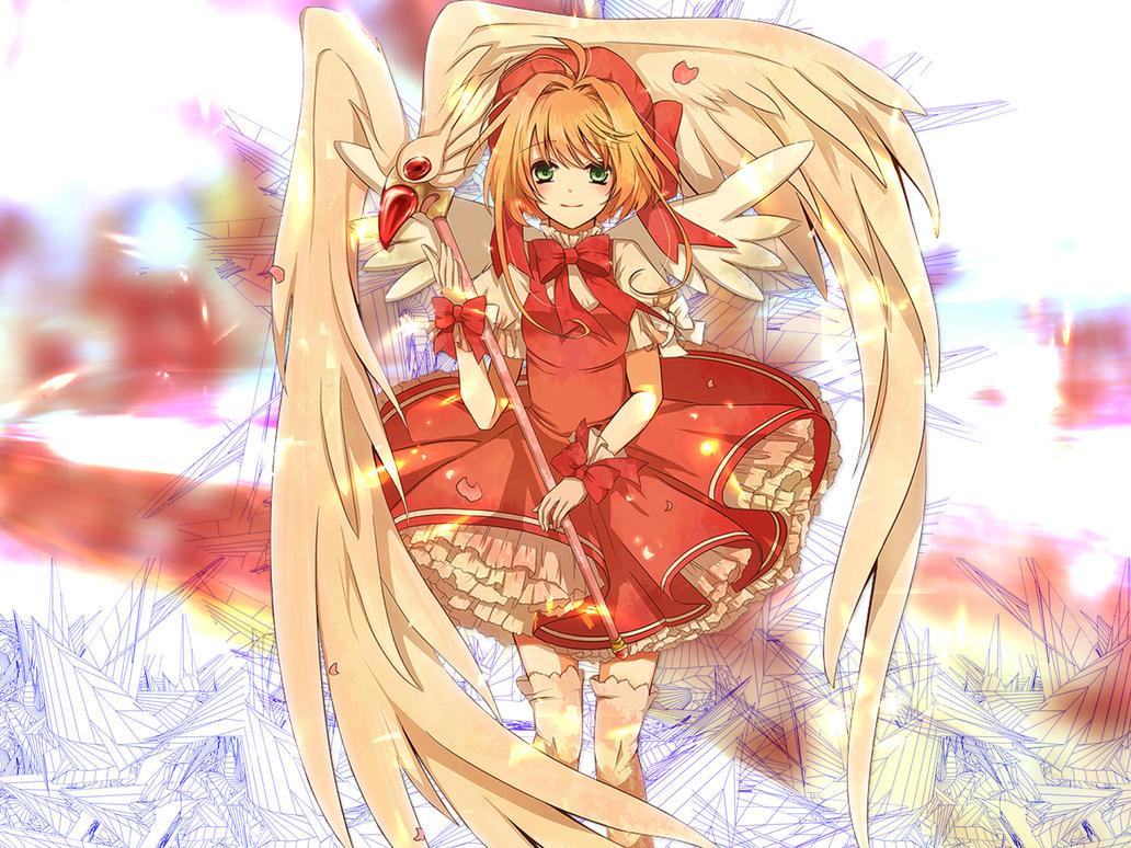 Card captor sakura wallpaper by takerasezer on deviantart - Cardcaptor sakura wallpaper ...