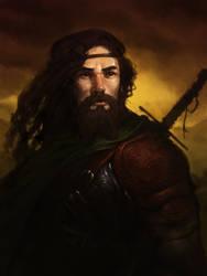 Warrior Speedpaint by Taaks