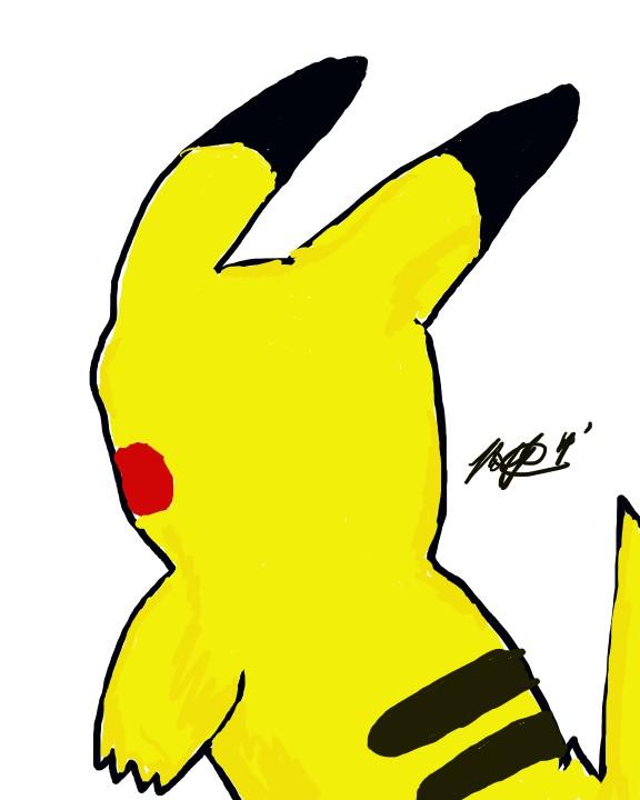 Pikachu by ZRandomAnimations