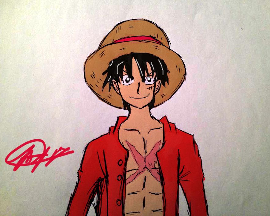 Luffy by ZRandomAnimations