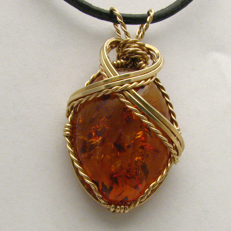 from oskar necklaces amber teardrop pendant c poland