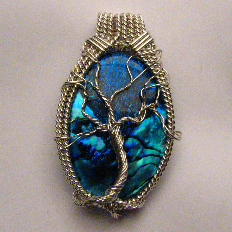Custom Tree of life Pendant by JandSGems