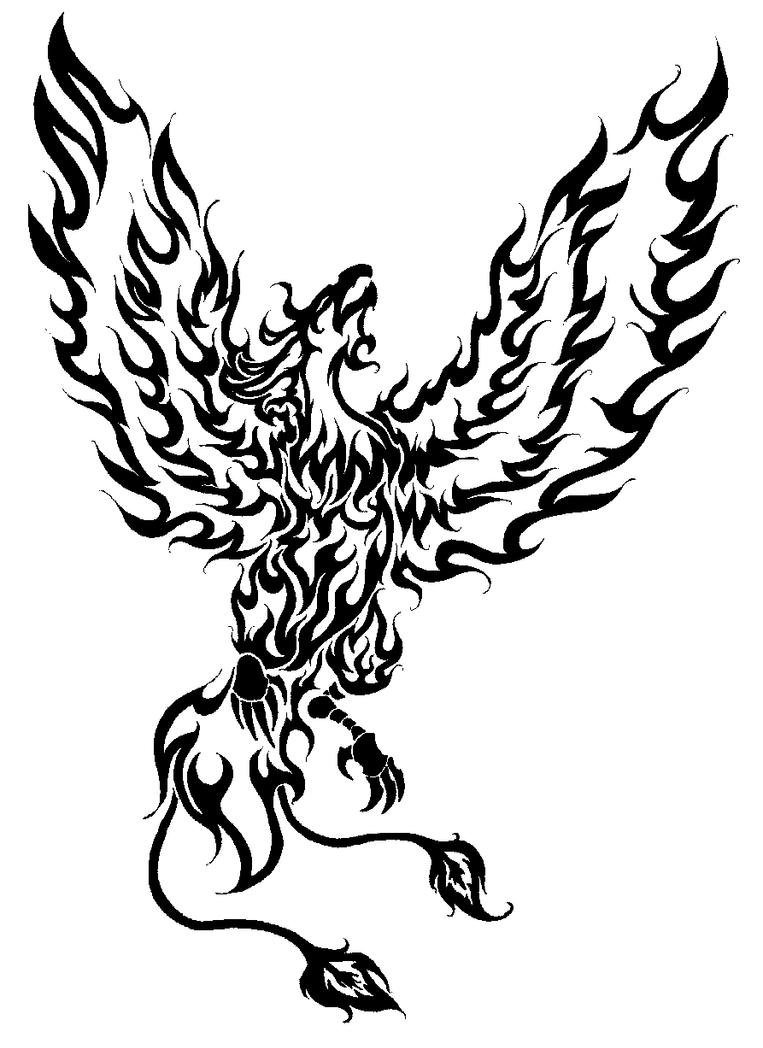 phoenix rising by geoberserker on deviantart. Black Bedroom Furniture Sets. Home Design Ideas