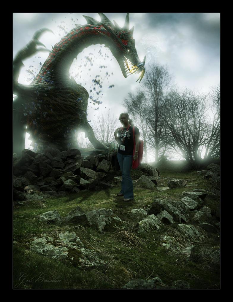 Dragon Age Tourist by GeoBerserker