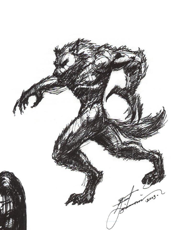 Werewolf by GeoBerserker