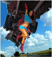 Samantha Kelly Supergirl by yatz by zenx007