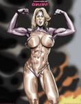 Megan Avalon is Gemstarr By fabiovalentini