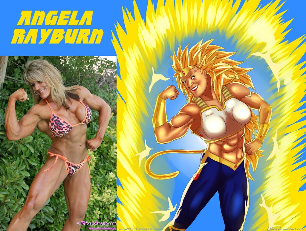 Angela Rayburn Is Bora For Gokugirl2006 By Ulics by zenx007