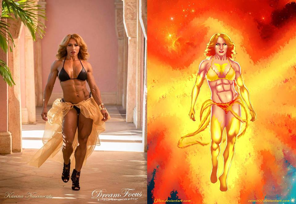 Karina Nascimento Is HOT Like Phoenix by Ulics by zenx007