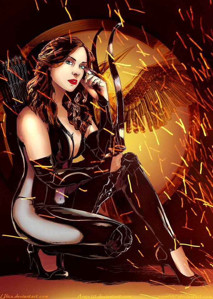 CLASSY Katniss by Ange10 And Ulics by zenx007