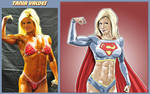 Tania Valdes Is Supergirl By fabiovalentini