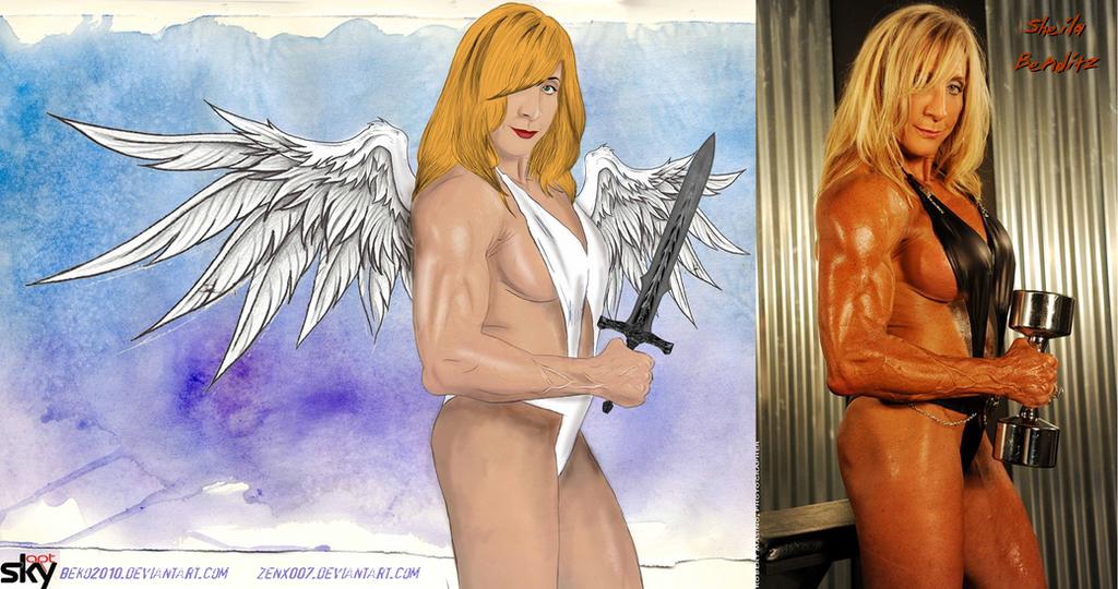 Warrior Angel Sheila Benditz By Beko2010 by zenx007