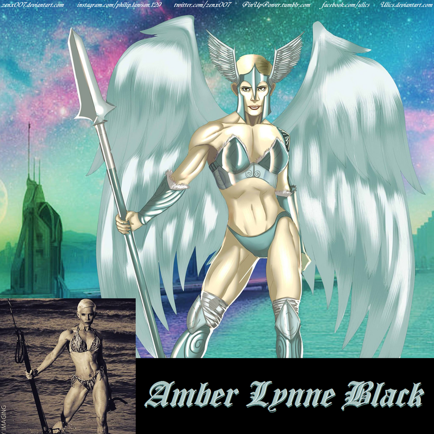 Valkyrie Amber Lynn Black By Ulics by zenx007